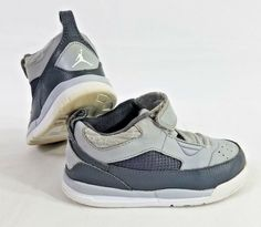 864aca434b730c Details about Nike Jordan Flight 9.5 BT Gray Basketball Shoes Baby Toddler  Size 9C  654977-006