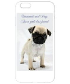 Pugs are a Girls Best Friend! diamondsnpugs