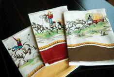 Riding the Range Cowboy Kitchen Towel Set - Marmalade Mercantile
