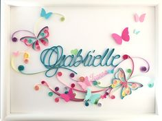 Made In paper Arte Quilling, Quilling Letters, Paper Quilling Patterns, Origami And Quilling, Quilling Paper Craft, Paper Crafts, Filigrana Neli, Fall Crafts, Diy And Crafts