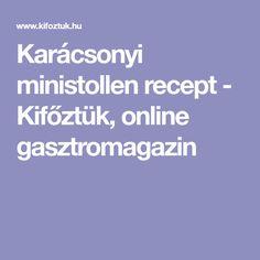 Karácsonyi ministollen recept - Kifőztük, online gasztromagazin