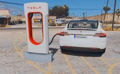 Gracias a un Mod ya pueden manejar un Tesla Modelo X en GTA V