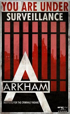 Arkham Asylum Warning Signs | Batman: Arkham City