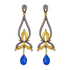 Heirloom Blue Tear Drop Dangle Earrings (13.525 RUB) ❤ liked on Polyvore featuring jewelry, earrings, accessories, joias, brincos, fashion jewelryearrings, sku jewelry, long post earrings, blue earrings and long teardrop earrings