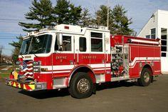 Cheshire Fire Department - Cheshire, CT - Engine 6 - 2009 Pierce Arrow XT #chesire #connecticut #setcom #fire #firetruck #americanflag #diesel http://setcomcorp.com/922intercom.html