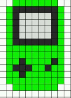 Gameboy Color Perler beads