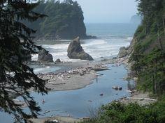Washington State, Olympic National Park coast