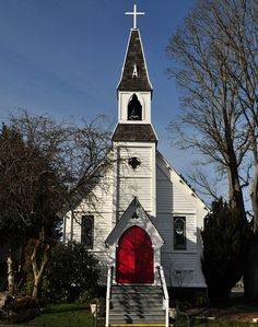 Port Townsend, Wa church. lovely town in Washington state.