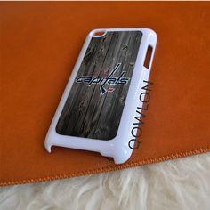 Washington Capitals Wood iPod Touch 4   4TH GEN Case
