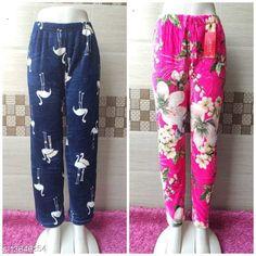 Pyjamas and Lounge Pants  Trendy Women Fancy Lower Fabric: Velvet Pattern: Solid Multipack: 2 Sizes:  32 (Waist Size: 32 in Length Size: 39 in Hip Size: 34 in)  34 (Waist Size: 34 in Length Size: 39 in Hip Size: 36in)  36 (Waist Size: 36 in Length Size: 39 in Hip Size: 38 in)  38 (Waist Size: 38 in Length Size: 39 in Hip Size: 40 in)  40 (Waist Size: 40 in Length Size: 39 in Hip Size: 42 in) Country of Origin: India Sizes Available: 32, 34, 36, 38, 40, 42   Catalog Rating: ★4 (849)  Catalog Name: Ravishing Fashionista Women Palazzos CatalogID_1625983 C76-SC1054 Code: 874-13646254-6321