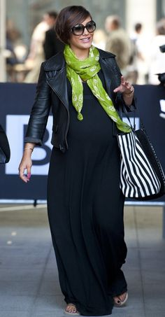 Frankie Sandford looked happy and healthy yesterday. Copyright [Wenn]