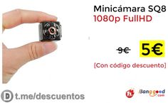 Micro Cámara SQ8 1080P por sólo 5 - http://ift.tt/2xVuZDN