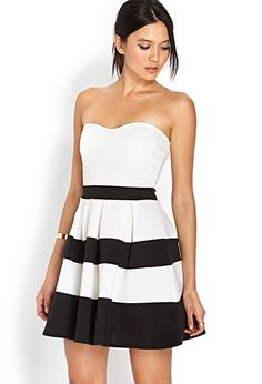 Lovely Lady Strapless Dress | FOREVER 21 - 2000069240