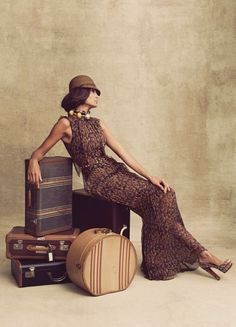 I've always believed one could live many lives through the way we dress and the places we travel to, even if just in our imagination. The world is open to us, and each day is an occasion to reinvent ourselves.  ~Ralph Lauren~