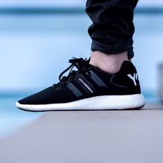 adidas Y-3 Yohji Boost: Black/White