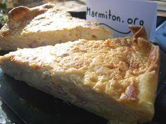 Recette : Quiche moelleuse à la crème de soja - Une recette de cuisine Marmiton