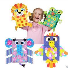 Compra Bolsa de papel títeres/marionetas online al por mayor de ...