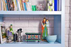 Rzeźba - tradycyjne rękodzieło ludowe - matka z dzieckiem 33 cm