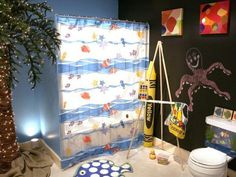 Childrens Shower Curtains‎ Models - http://decorshouse.net/childrens-shower-curtains/