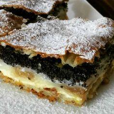 Sweet Recipes, Cake Recipes, Dessert Recipes, Palacinke Recipe, Baklava Dessert, Bread Dough Recipe, Bosnian Recipes, Kolaci I Torte, Austrian Recipes