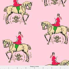 Horse Fleece Fabric