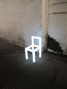 Light chair.