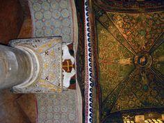 San Vital de Ravenna. italia. Reinado de Justiniano. 555. Pura tradición romana imperial. Los últimos grandes artistas.