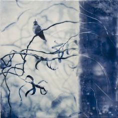 Blue Willow by Thea Schrack Art...I love the colors.