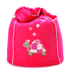 Tess the Turtle bean bag in stunning watermelon http://www.cocooncouture.com/