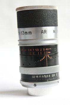 Switar f0.9 13mm D mount lens