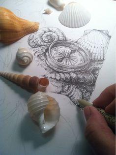 flying shoes art studio: PROGRESS ON 2012 BOOKPLATE