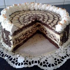 Eat Pray Love, Hungarian Recipes, Cakes And More, Creative Food, Sweet Recipes, Cake Decorating, Dessert Recipes, Food And Drink, Yummy Food
