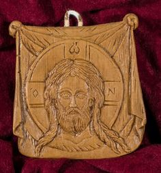 Small Veronica's Veil x Aromatic Christian Wall Icon Plaque made with pure beeswax mastic and incense Christian Friends, Christian Gifts, Luke The Evangelist, Small Icons, Wall Crosses, Spiritual Gifts, Great Christmas Gifts, Wall Plaques, Incense