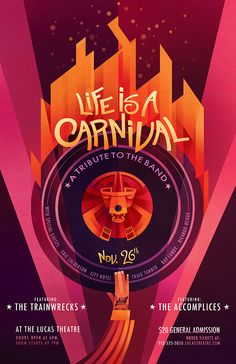 Life is a Carnival: A Tribute to The Band on Behance