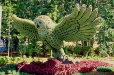 Incriveis esculturas feitas em Jardins | rnteste