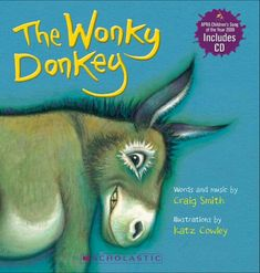 Product: Wonky Donkey Board Book (with CD) - Book - School Essentials