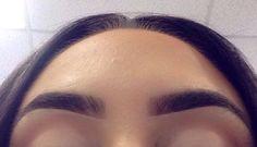 Eyebrow make up