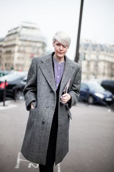 Street Style en Paris Fashion Week © Josefina Andrés # style street #www.o7o2.com picks