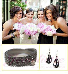 Classic! Silver Night jewels! Fabulous Bracelet by Marji and Alina of Girly Girls!!