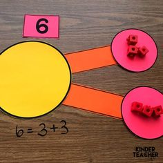 Decomposing Math Center Activities Here are some engaging math center activities to get your students decomposing numbers in more than 1 way by drawing a picture and using objects. Kindergarten Math Activities, Fun Math Games, Kindergarten Activities, Teaching Math, Primary Teaching, Numeracy Activities, Numbers Kindergarten, Teaching Resources, Guided Maths