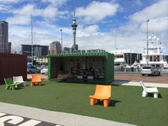 Shipping Container Coffee, Auckland NZ