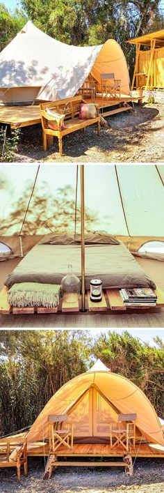 Luxury Tent Escape with Pool near Santarem PortugalYou can find Tent and more on our website.Luxury Tent Escape with Pool near Santarem Portugal Yosemite Camping, Tent Camping, Outdoor Camping, Glamping, Camping Ideas, Tent Photography, Bedouin Tent, First Time Camping, Camping Aesthetic