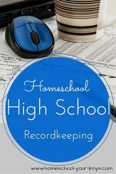 Homeschool High School Record Keeping New to homeschooling high school? Want to know what homeschool high school record keeping will make colleges want to admit your kids? It's not that hard! Homeschool High School, Homeschool Curriculum, School Classroom, Catholic Homeschooling, Online Homeschooling, Importance Of Time Management, College Courses, Education College, Online College