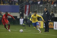 Picture: Neymar during the game against PER #fcblive [via @neymarjr11_idn]