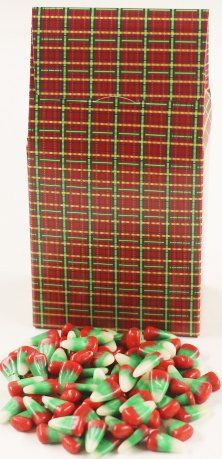 Scott's Cakes Reindeer Corn in a 8 oz. Standing Christmas Plaid Box *** Read more @