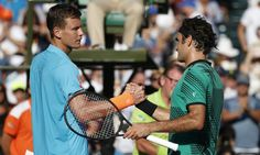 Federer saves match points to reach first Miami semifinal since 2011 = With his serve not working, confidence in his backhand fading, Roger Federer managed to find enough fumes left in the tank to keep his incredible start to 2017 alive. After squandering chances of his own, Federer prevailed 6-2, 3-6, 7-6 (6) over frequent foe Tomas Berdych in the Miami quarterfinals, which puts him in…..