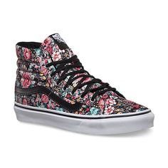 Multi Floral Sk8-Hi Slim | Shop at VF