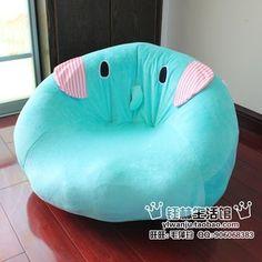 Sentimental Circus Beanbag Chair Ultra Kawaii 3 I Loooove The Animals