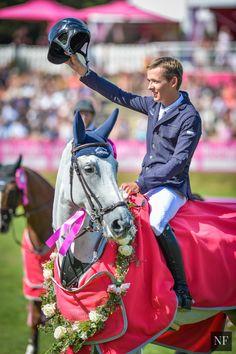Bertram Allen and Molly Malone - Winners of the €268,000 Grand Prix de la Ville de Dinard CSI5*. - Noelle Floyd
