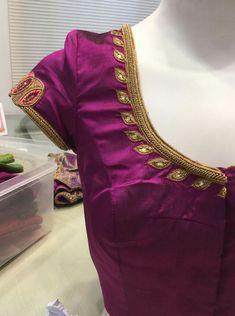 Best Blouse Designs, Simple Blouse Designs, Stylish Blouse Design, Blouse Neck Designs, Bridal Blouse Designs, Traditional Blouse Designs, Traditional Sarees, Kerala Saree Blouse Designs, Maggam Work Designs